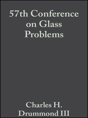 cover image of 57th Conference on Glass Problems