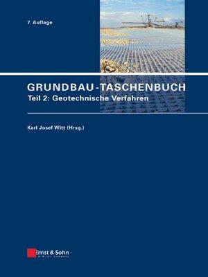 cover image of Teil 2: Geotechnische Verfahren