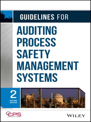 cover image of Guidelines for Auditing Process Safety Management Systems