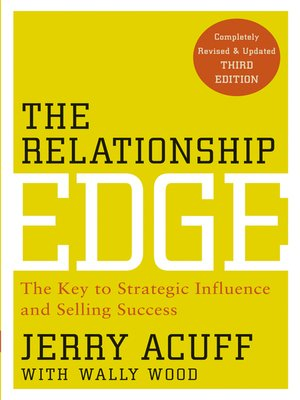 cover image of The Relationship Edge