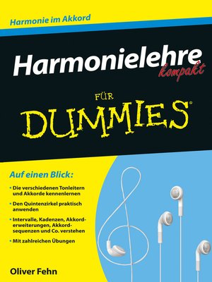 cover image of Harmonielehre kompakt für Dummies