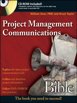 cover image of Project Management Communications Bible