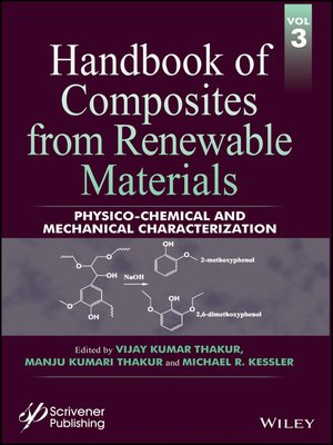 cover image of Handbook of Composites from Renewable Materials, Physico-Chemical and Mechanical Characterization