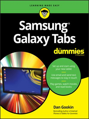 cover image of Samsung Galaxy Tabs For Dummies