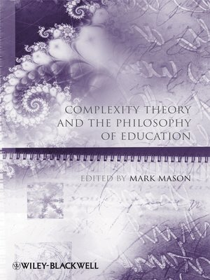 cover image of Complexity Theory and the Philosophy of Education
