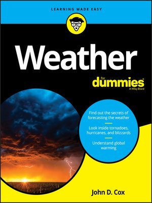cover image of Weather For Dummies