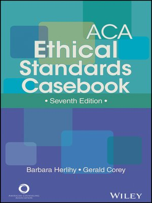 cover image of ACA Ethical Standards Casebook