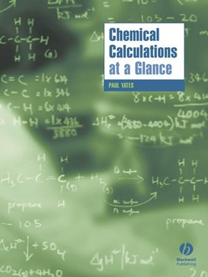 cover image of Chemical Calculations at a Glance
