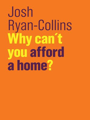 cover image of Why Can't You Afford a Home?