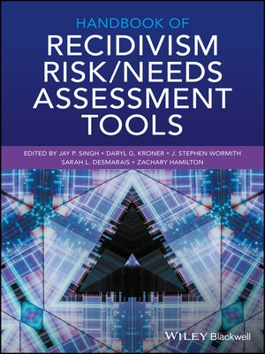 cover image of Handbook of Recidivism Risk / Needs Assessment Tools