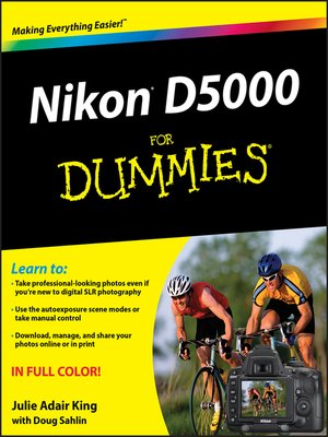 cover image of Nikon D5000 For Dummies