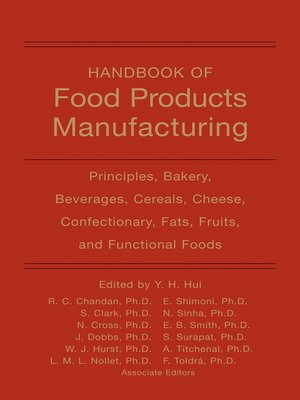 cover image of Handbook of Food Products Manufacturing, 2 Volume Set