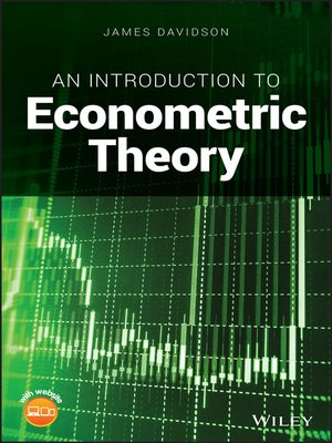 cover image of An Introduction to Econometric Theory