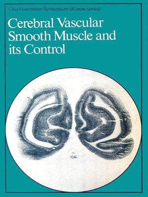 cover image of Cerebral Vascular Smooth Muscle and its Control