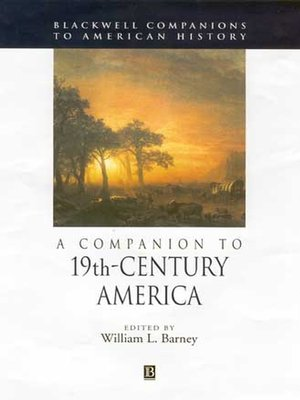 cover image of A Companion to 19th-Century America