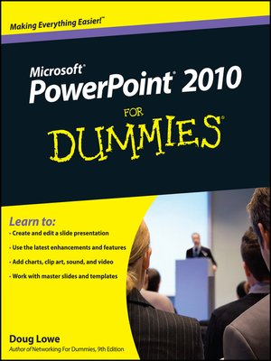cover image of PowerPoint 2010 For Dummies