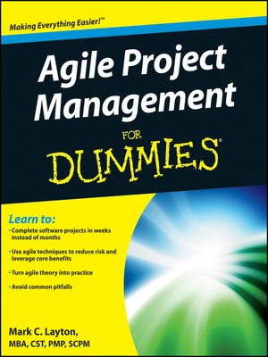cover image of Agile Project Management For Dummies