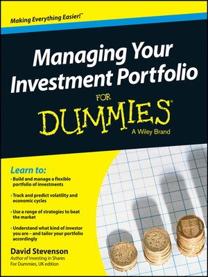 cover image of Managing Your Investment Portfolio For Dummies