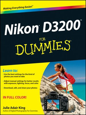 cover image of Nikon D3200 For Dummies