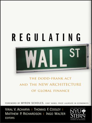 cover image of Regulating Wall Street