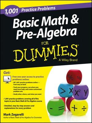 cover image of Basic Math & Pre-Algebra