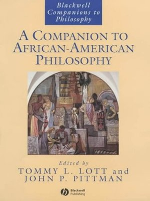 cover image of A Companion to African-American Philosophy