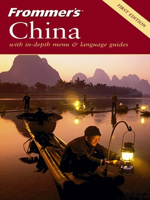 cover image of Frommer's China