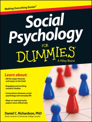 cover image of Social Psychology For Dummies
