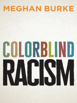 cover image of Colorblind Racism