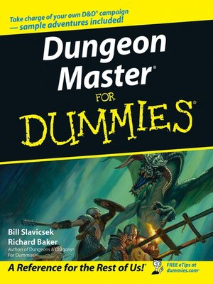 cover image of Dungeon Master For Dummies