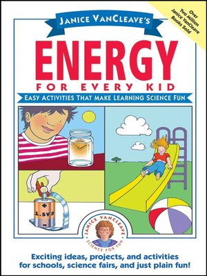 cover image of Janice VanCleave's Energy for Every Kid