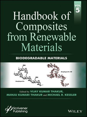 cover image of Handbook of Composites from Renewable Materials, Biodegradable Materials