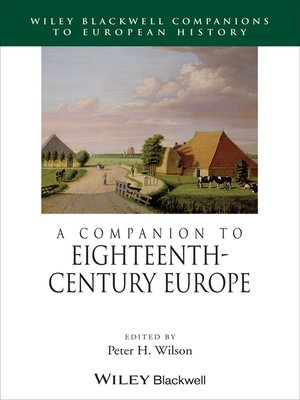cover image of A Companion to Eighteenth-Century Europe