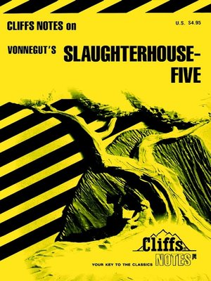 cover image of CliffsNotes on Vonnegut's Slaughterhouse-Five