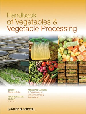 cover image of Handbook of Vegetables and Vegetable Processing