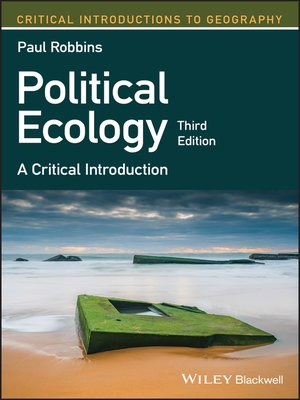 cover image of Political Ecology