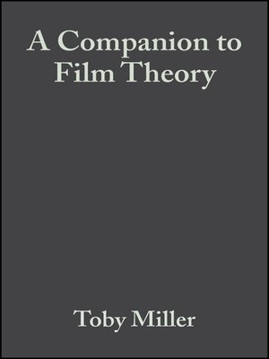 cover image of A Companion to Film Theory