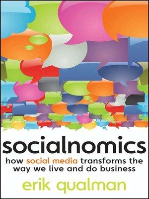 cover image of Socialnomics