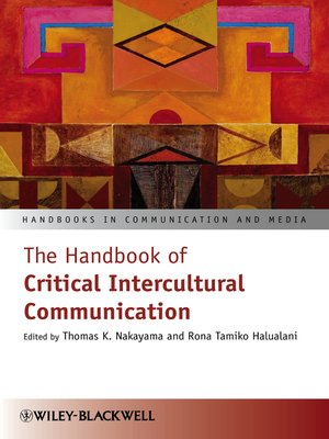 cover image of The Handbook of Critical Intercultural Communication