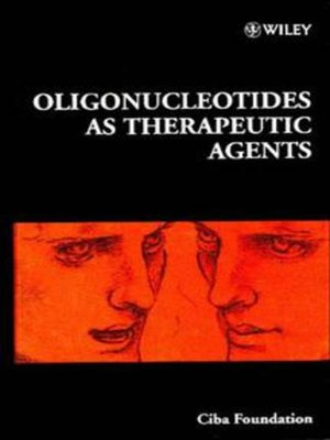 cover image of Oligonucleotides as Therapeutic Agents