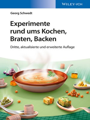 cover image of Experimente rund ums Kochen, Braten, Backen