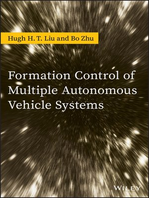 cover image of Formation Control of Multiple Autonomous Vehicle Systems
