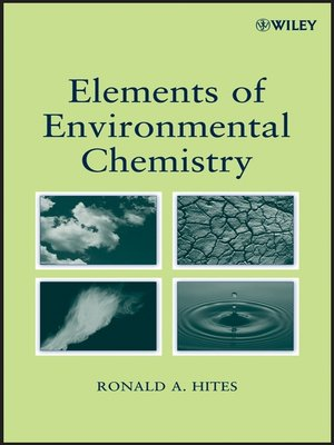 cover image of Elements of Environmental Chemistry