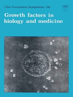 cover image of Growth Factors in Biology and Medicine