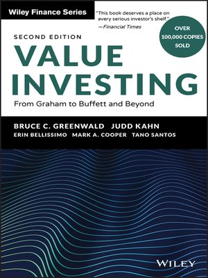 cover image of Value Investing