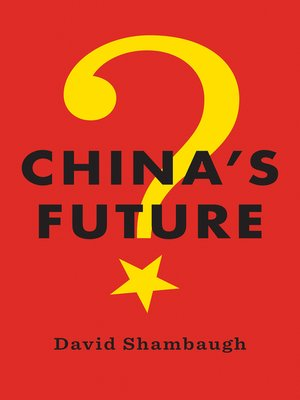 cover image of China's Future