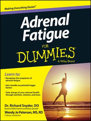 cover image of Adrenal Fatigue For Dummies
