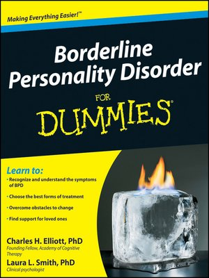 cover image of Borderline Personality Disorder For Dummies