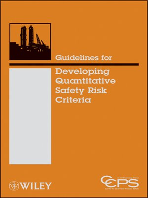 cover image of Guidelines for Developing Quantitative Safety Risk Criteria