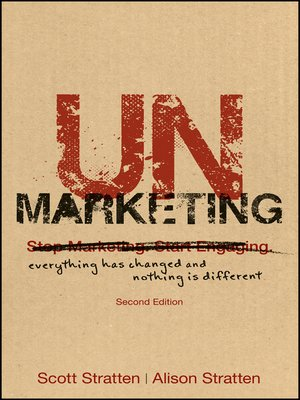 cover image of UnMarketing